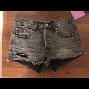 Levi's High Waisted Short